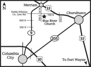 Blue River Brethren Map